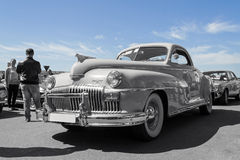Oude uitstekende Amerikaan 1948 DeSoto Stock Foto's