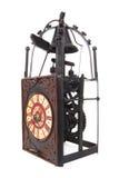 Oude Uitstekende Antieke Klok Royalty-vrije Stock Fotografie