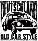 Oude uitstekende auto Royalty-vrije Stock Fotografie