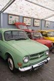 Oude uitstekende auto's royalty-vrije stock afbeelding