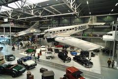 Oude uitstekende auto's binnen Technisch museum Speyer Royalty-vrije Stock Afbeelding
