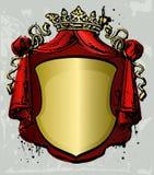 Oude uitstekende banner Royalty-vrije Stock Fotografie