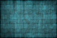 Oude uitstekende blauwe document textuur of achtergrond stock foto