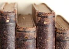 Oude uitstekende boeken 1898 Royalty-vrije Stock Afbeeldingen