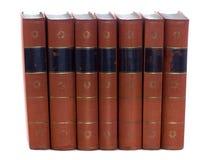 Oude uitstekende boeken Royalty-vrije Stock Fotografie