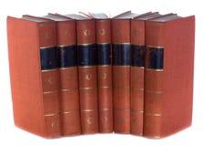 Oude uitstekende boeken Royalty-vrije Stock Foto's