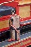 Oude uitstekende brandmotor Royalty-vrije Stock Afbeeldingen