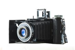 Oude uitstekende camera stock fotografie