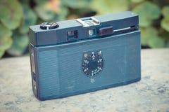 Oude uitstekende camera Stock Foto