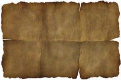 Oude uitstekende document textuur of achtergrond Stock Afbeeldingen