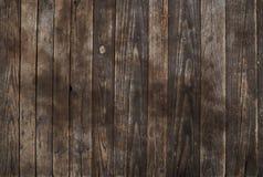 Oude uitstekende donkere bruine houten plankenachtergrond Royalty-vrije Stock Afbeelding