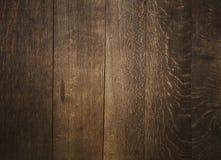 Oude uitstekende donkere bruine houten plankenachtergrond Royalty-vrije Stock Fotografie