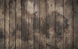 Oude uitstekende donkere bruine houten plankenachtergrond Royalty-vrije Stock Foto's