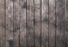 Oude uitstekende grijze bruine houten plankenachtergrond Stock Foto's