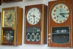 Oude uitstekende klok, Antiquiteit royalty-vrije stock foto