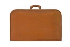 Oude uitstekende koffer Stock Afbeelding