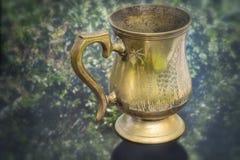 Oude Uitstekende Kuiper Mug royalty-vrije stock fotografie