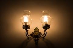 Oude uitstekende lamp Royalty-vrije Stock Fotografie