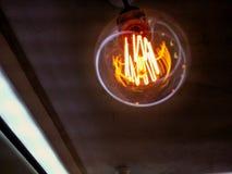 Oude uitstekende lamp Stock Fotografie