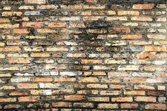 Oude uitstekende muur Stock Fotografie