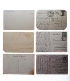 Oude uitstekende prentbriefkaaren Royalty-vrije Stock Afbeelding