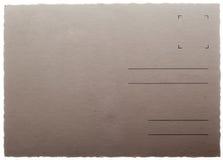 Oude uitstekende prentbriefkaaren Stock Afbeelding