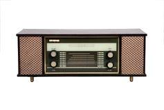 Oude uitstekende radio Royalty-vrije Stock Afbeeldingen