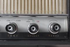 Oude uitstekende radio Royalty-vrije Stock Afbeelding