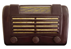 Oude uitstekende radio Stock Afbeeldingen