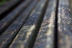 Oude uitstekende rustieke oude antieke houten sepia oppervlakte met hiaten in perspectief Stock Fotografie