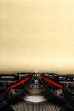 Oude uitstekende schrijfmachine Royalty-vrije Stock Foto's