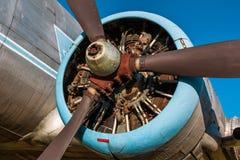 Oude uitstekende straalmotor stock afbeeldingen