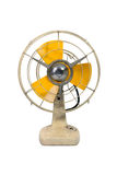 Oude uitstekende ventilator Stock Foto