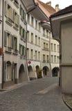 Oude Unesco-stad van Bern zwitserland Stock Afbeelding
