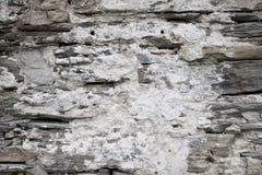 Oude van de Steenmuur Textuur Als achtergrond Royalty-vrije Stock Afbeeldingen