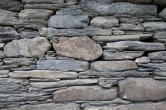 Oude van de Steenmuur Textuur Als achtergrond Royalty-vrije Stock Foto