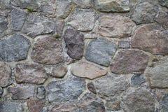 Oude van de Steenmuur Textuur Als achtergrond Stock Afbeeldingen