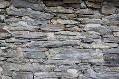 Oude van de Steenmuur Textuur Als achtergrond Stock Fotografie