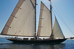 Oude varende boot Royalty-vrije Stock Fotografie