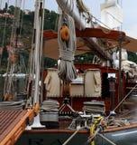 Oude varende boot royalty-vrije stock foto