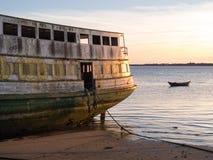 Oude veerboot Stock Afbeelding