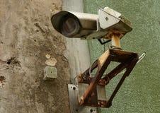 Oude veiligheidscamera Royalty-vrije Stock Foto's