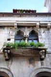 Oude Venetiaanse vensters Royalty-vrije Stock Afbeelding