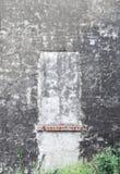 Oude Venster en Muur Stock Afbeelding