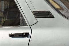 Oude ventilatie op een auto royalty-vrije stock afbeeldingen
