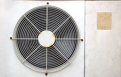 Oude ventilatieventilator Royalty-vrije Stock Foto