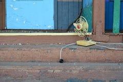 Oude ventilator Stock Foto's