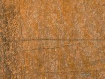 Oude verf op de vloermetaal aangetaste textuur stock afbeeldingen