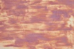 Oude verf op metaal, verflaag en inleiding, koel textuurmengsel met roest stock fotografie