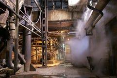 oude verlaten fabriek royalty-vrije stock foto's